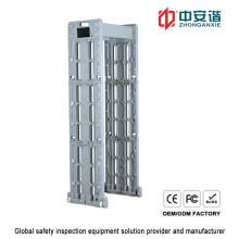 Pantalla LCD 24 zonas Teléfono inalámbrico de conexión impermeable marco de puerta de metal detector