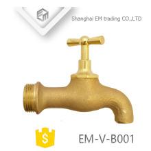 EM-V-B001 Tipo de gallo Rosca macho de latón de alta calidad Bibcock