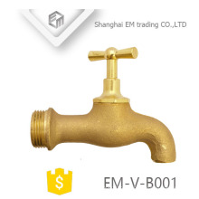 EM-V-B001 Galo Tipo de alta qualidade latão masculino rosca Bibcock