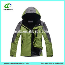 2015 windproof and waterproof plus size man clothing