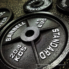 2021 Hot Sell Olympic Barbell Weights Set Cast Iron Weight Bumper Plates