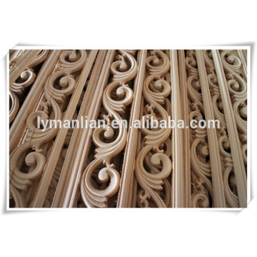 cabinet use solid wood moulding/ wall decor window frame