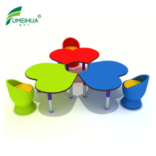 FuMeiHua Long Narrow Table Meeting Table Compact Laminate Tabletop Furniture Dining Table