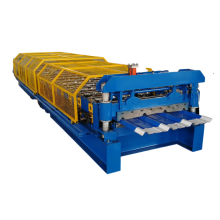 Colored steel trapezoidal wall & roof cladding sheet forming machine production line factory price