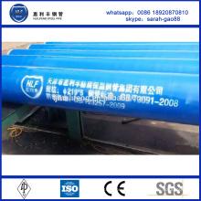 ST42 антикоррозионная бесшовная стальная труба для цементного раствора