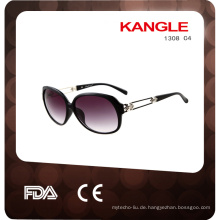 2017 Bulk-Kunststoff-Sonnenbrille für Frauen