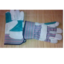 Good Quality Industrial Cow Split Leather Safety Working Gloves