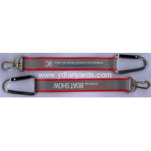 Customized Carabiner Metal Key Chain Short Lanyard