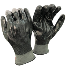 NMSAFETY anti water fishing work use full coated nitrile labor gloves