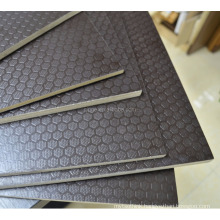 fire resistant anti-slip black film faced plywood with factory price