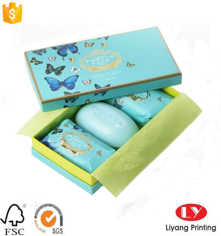paper box for soap packaging