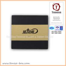 Custom Printed Black Kraft Rigid Paper Box