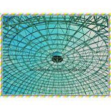 Peso ligero Espacio de acero Tejado de techo Tejado de metal Edificio