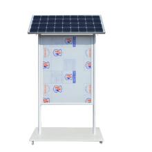 Solar Powered Advertising Scrolling Light Box Billboards System