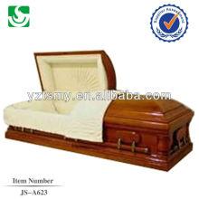 JS-A623 fine des cercueils en bois polis
