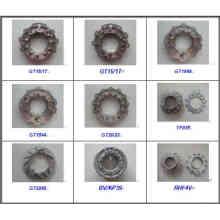 Plaque de buse à anneaux de buse variable pour turbocompresseur