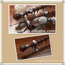 aluminum rail double or single bracket for aluminum-plastic curtain pipe,curtain rod pole customized