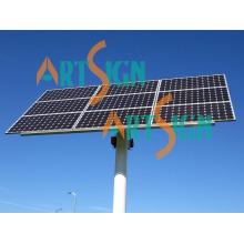 9 Platten einzelne Pole Wasser Pumpe Solar Freilandanlage