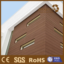 Foshan WPC Fire Tested Plastic Composite External Wood Cladding.