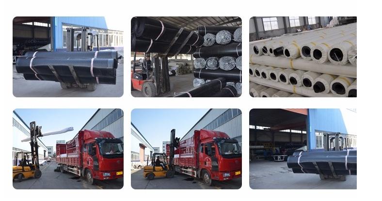 PVC geomembrane shipping