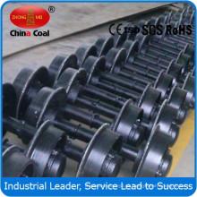 conjunto de rueda de coche de minería de 500mm de carbón de china