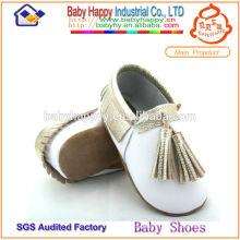 MOQ 60 baby boy chaussures cuir mocassins bébé