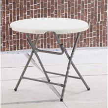 Extérieur Banquet intérieur Restauration Restauration Pique-nique Barbecue Camping HDPE Table en plastique (HQ-Y80)