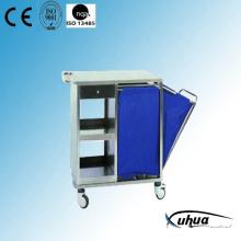 Тележка для медицинской обработки больницы из нержавеющей стали (Q-35)