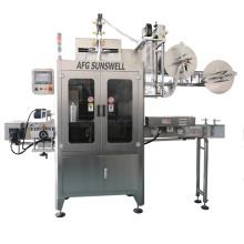 Machine d'étiquetage à manchon rétractable à double tête