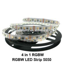 DC12V 5050 SMD RGBW a mené la lumière de bande pour l'intérieur utilisé