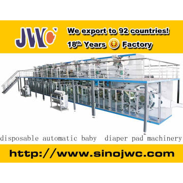 2015 Full Servo Elastic Ear Baby Diaper Machine