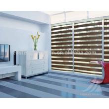 Fábrica vende directamente persianas de doble capa cebra persianas