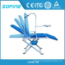 Fabricación de la silla dental portable portable de la venta caliente