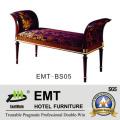 Классический стиль отеля Мебель Кровать конце стул (EMT-BS05)