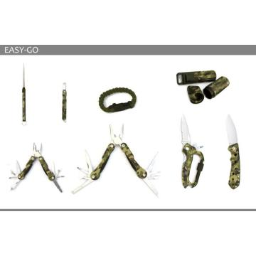 Designidee Camouflage 8-teiliges Survival Kit