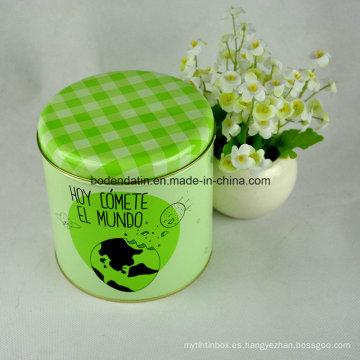 Caja pequeña de encargo de la lata del té del regalo con la impresión de Cmyk