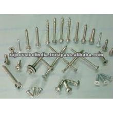 DIN estándar 304 M10 sujetadores de acero inoxidable