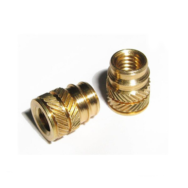 Precision Injection Molding Brass Knurled Nuts