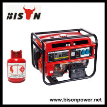 BISON (CHINA) Precio del generador de turbina de gas natural de ejecución fiable