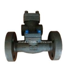 A alta pressão 1500lb 2500lb forjou a válvula de verificação da flange do aço A105