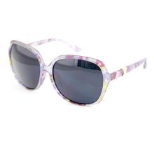 Цветочная печать Модные солнцезащитные очки с большой рамкой объектива (14308)