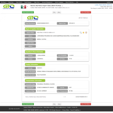 Polyester-Mexico Customs Import Datenmuster