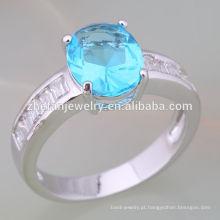 Fábrica profissional atacado bijuterias itália eternidade anel 14 k amarelo ouro 925 anel de prata esterlina jóias