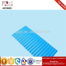 Construção plástica da indústria da telha de telhado do PVC da isolação de grande resistência do Anti-corosion em vez