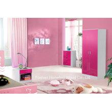 Ensembles d'armoires pour les enfants de haute qualité pour enfants de 3 pièces (HH02PW)