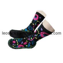 Waterproof Slipper Socks with Rubber Sole