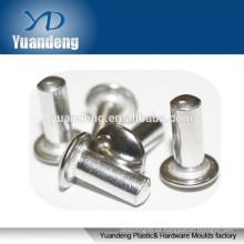Aluminio sólido cabeza redonda remaches
