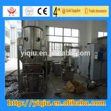 secador de granulador de lecho fluido de un paso