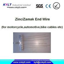 Bicicleta / Motocicleta / Automóvil Cables de embrague Zinc End Injection Machine