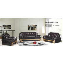 Ciff Good Sale Genuine Leather Sofa for Wholesaler (A-13)